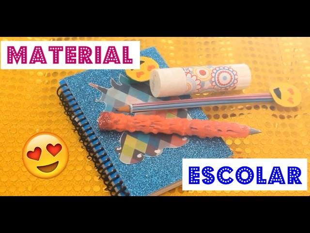 DIY MATERIAL ESCOLAR DIVERTIDO! Bruna Souza