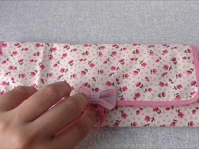 Porta Pincel de tecido - Craft Time