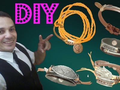 Pulseiras DIY #1 Aprenda á fazer a sua