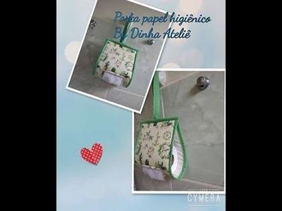 2 #Dinhatododia Porta rolo de papel higiênico