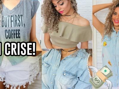 Como CUSTOMIZAR roupa - Como Fazer Colete,  blusa ciganinha e MAIS! FAÇA você mesmo #1