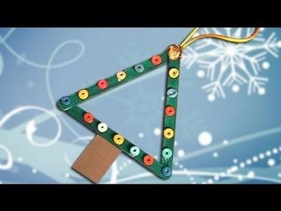 Como fazer um enfeite de uma árvore de Natal simples