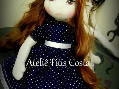 Como fazer vestido para  boneca