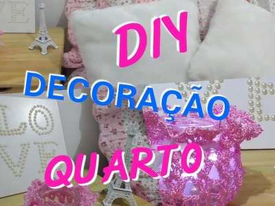 3 DIY Super Fáceis para Decorar seu Quarto | Room decor