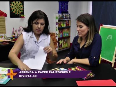 Aprenda - com a Psicopedagoga Maria Carolina Lolli  Artesanato Palitoche para seu filho.