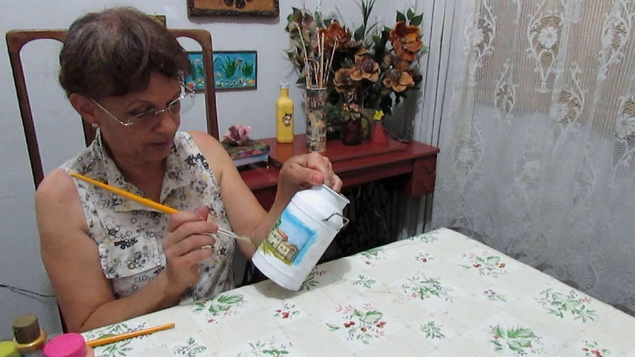 Artesanato: Decoração em lata