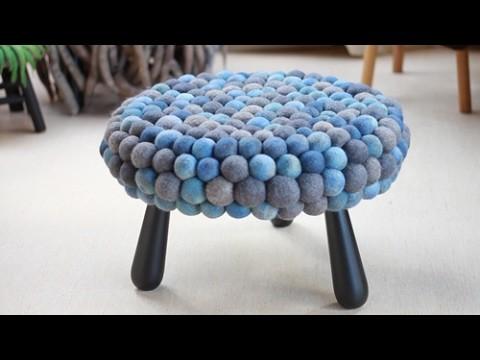 Artesanato feito com lã