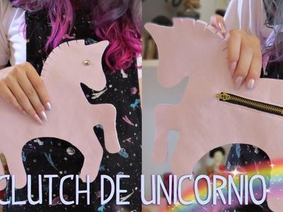 D.I.Y. Clutch.Bolsa de Unicórnio   Unicorn Clutch.Bag   ✫ ESPECIAL UNICÓRNIOS ✫