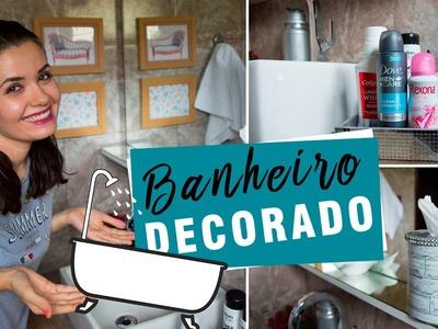 DIY - Ideias FÁCEIS e BARATAS de decoração para o banheiro