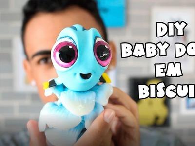 DIY - Baby Dory (Procurando Dory) Em Biscuit