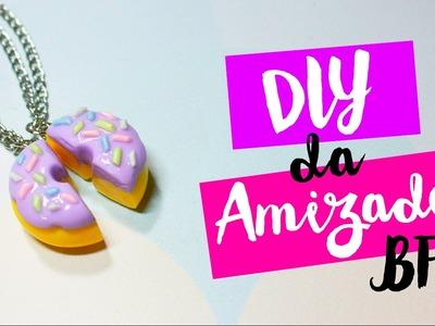 DIY - COLAR DE DONUT DA AMIZADE e CHAVEIRO de OREO - por Prih Gomes