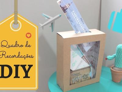 DIY | Como Fazer: Quadro de Recordações | Viagem dos Sonhos #PapelEmTudo