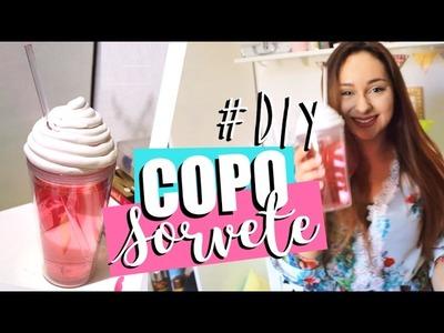 DIY: COPO TUMBLR | SORVETE - O Blog da Ka ♥