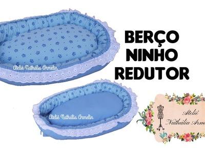 DIY fácil Ninho redutor para berço de bebê | Nathália Armelin