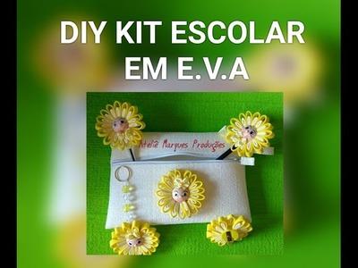 DIY Kit escolar em E.V.A.