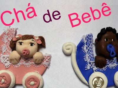 DIY: Lembrancinhas para CHÁ de BEBÊ. BABY SHOWER FAVOR