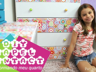 Diy Papel Contact | Transformando meu Quarto Gastando Pouco