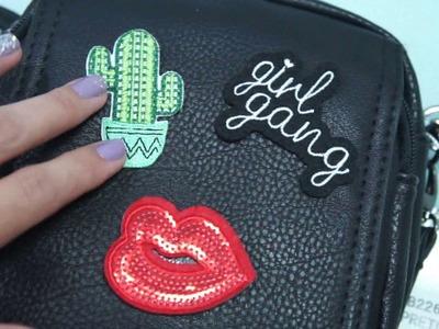 DIY: Personalizando a bolsa com Patches - GASTANDO POUCO