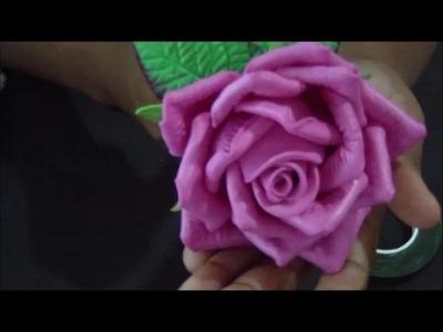 DIY: rosa conjugada passo a passo facil
