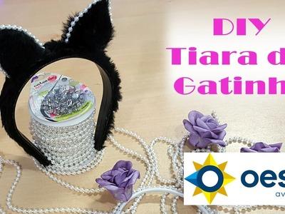 DIY - Tiara de Gatinho para Caranaval