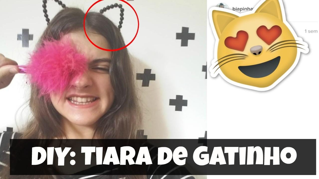 DIY: Tiara de Gatinho Tumblr