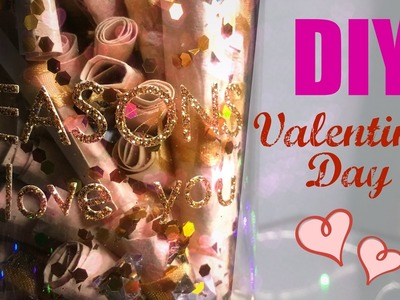 DIY Valentine's Day - 101 REASONS WHY I LOVE YOU (Especial Dia dos Namorados)