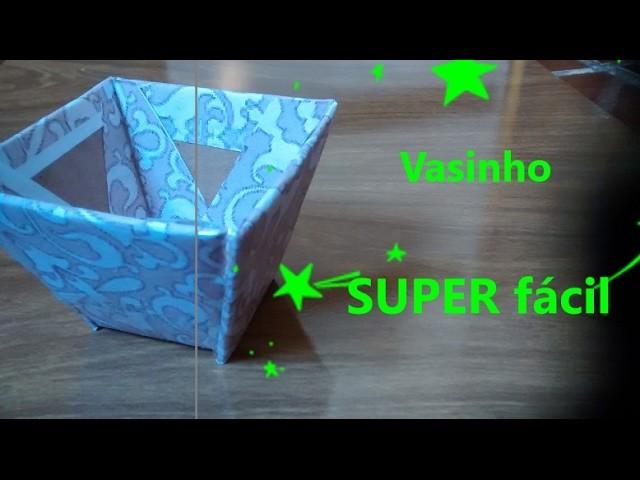 DIY - Vasinho Super facil.