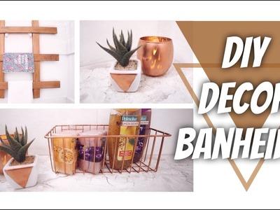 DIY: 4 DICAS SIMPLES PARA DECORAR SEU BANHEIRO