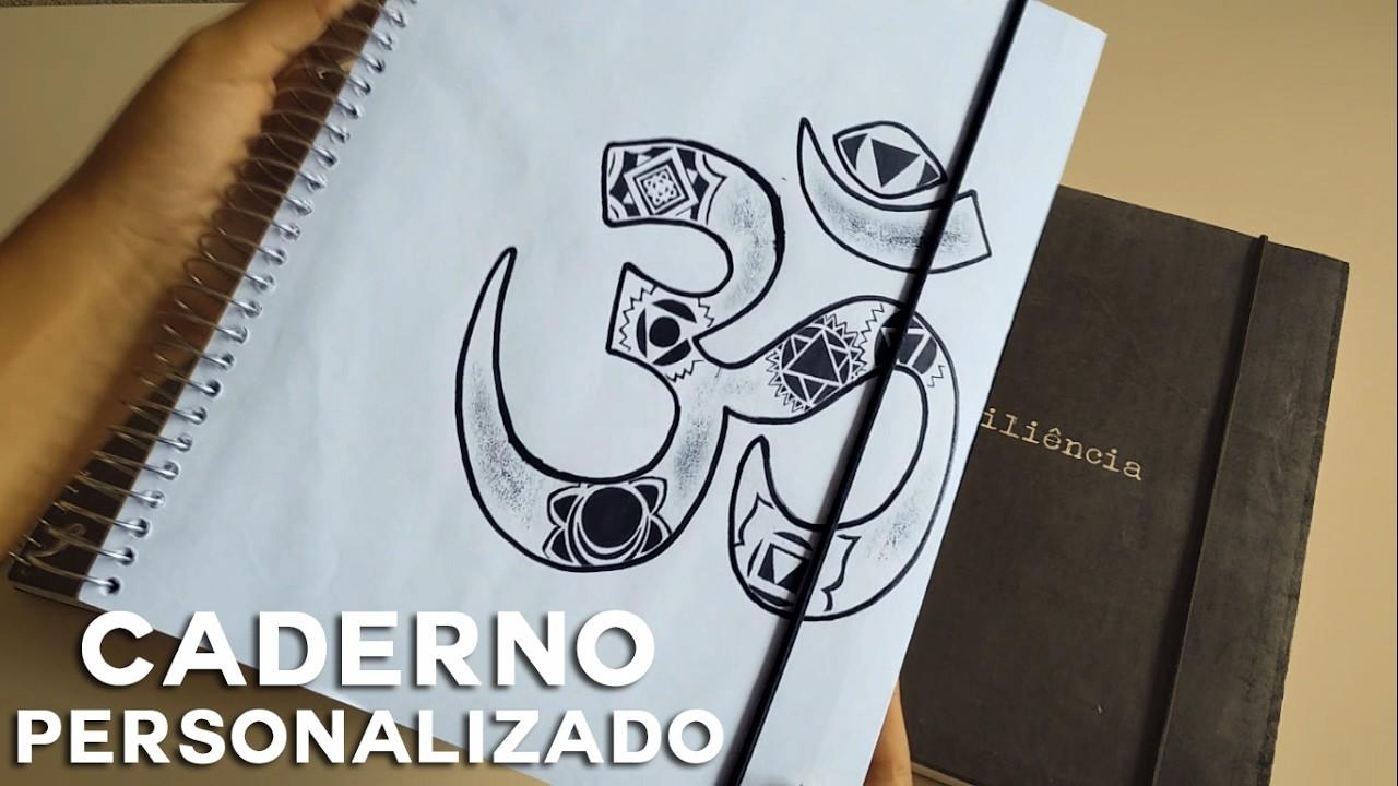 DIY: CADERNO PERSONALIZADO