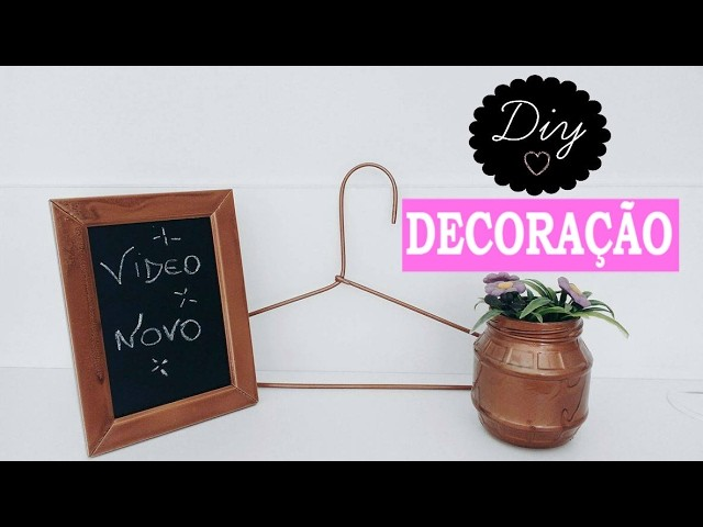 DIY: Decoração fácil e gastando pouco!