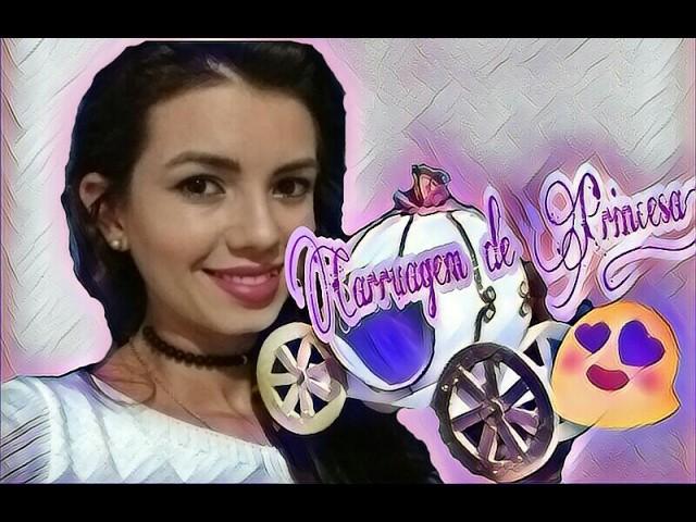 Diy! Decore sua festa: Carruagem de Princesa!