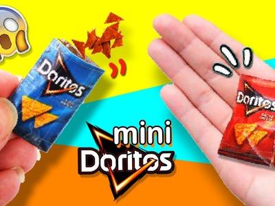 DIY DORITOS em miniatura * MINI DORITOS Súper Fofos!!