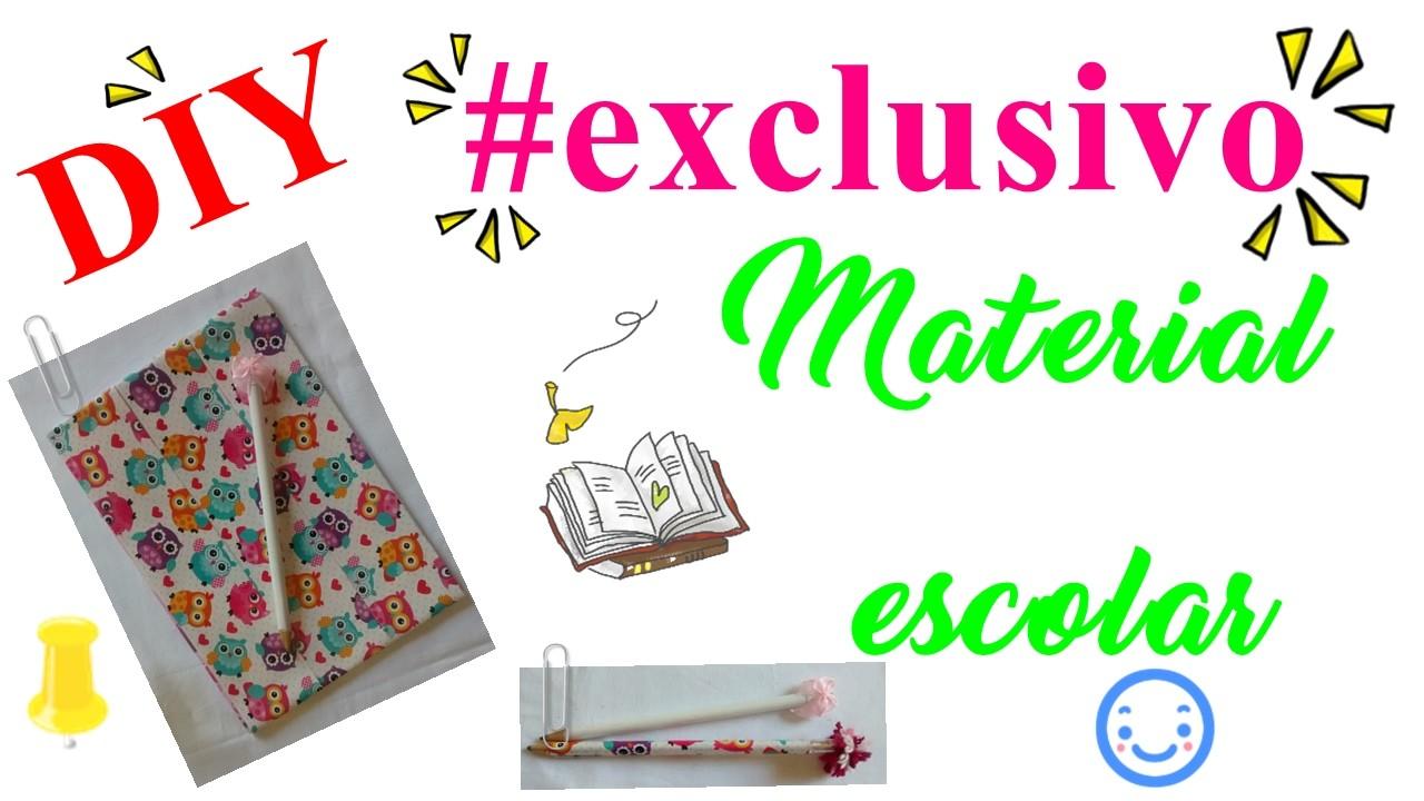 DIY MATERIAL ESCOLAR #EXCLUSIVO - PARTE 1