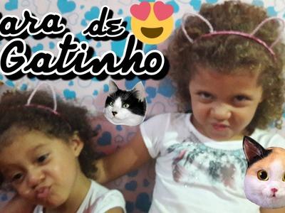 DIY | Tiara de Gatinho com Pérolas