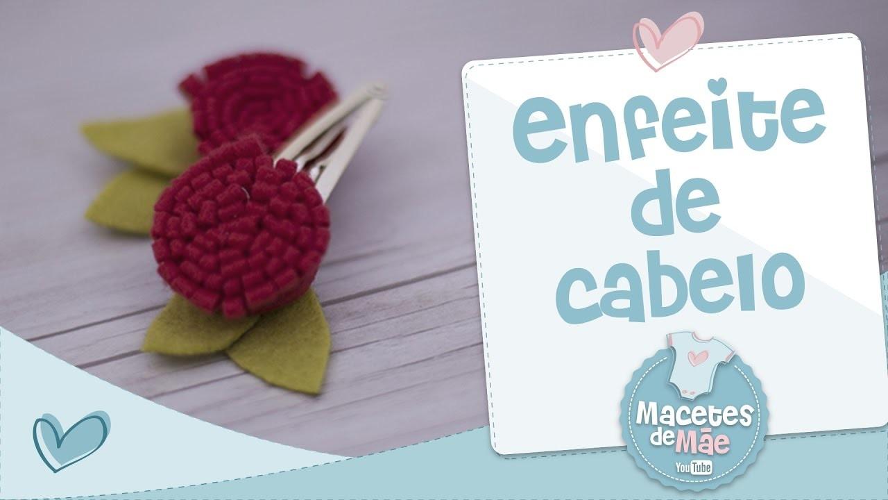 ENFEITE DE CABELO - DIY