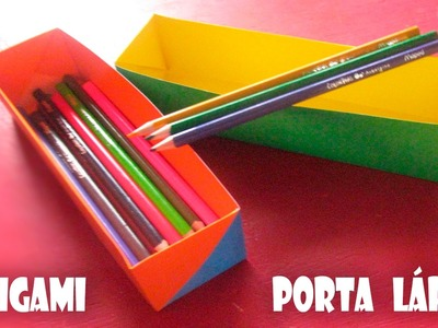Origami Porta Lápis Dupla face!!