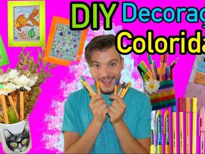 4 IDEIAS FÁCEIS DE DECORAÇÃO PARA SEU QUARTO | Viva suas cores