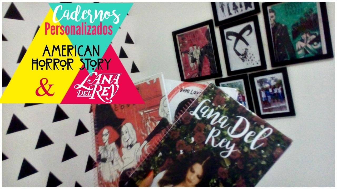 Adolerados | DIY: Caderno Personalizados da AHS & Lana Del Rey
