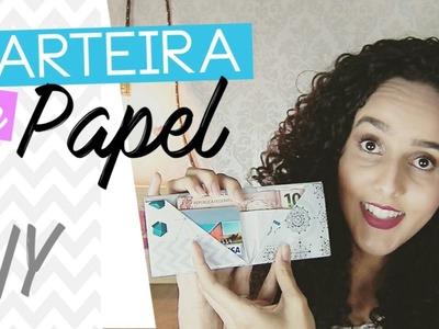 DIY Carteira de papel  | Pricilla Calaça