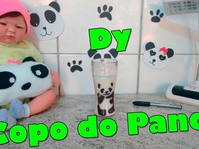DIY: Copo Panda l Tati Antunes
