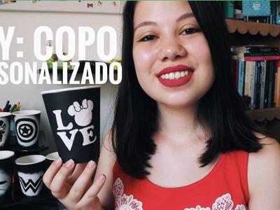 DIY COPO PERSONALIZADO - UM LIVRO APÓS O OUTRO