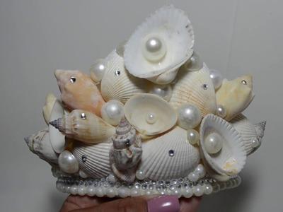 DIY: Coroa de Sereia FÁCIL