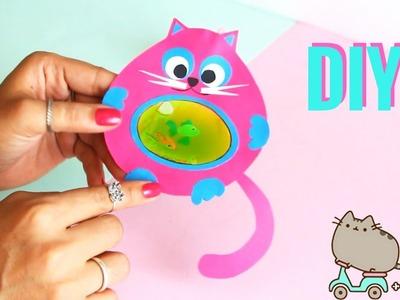 DIY MARCADOR DE PÁGINA LÍQUIDO- DIY Liquid Cat Bookmark
