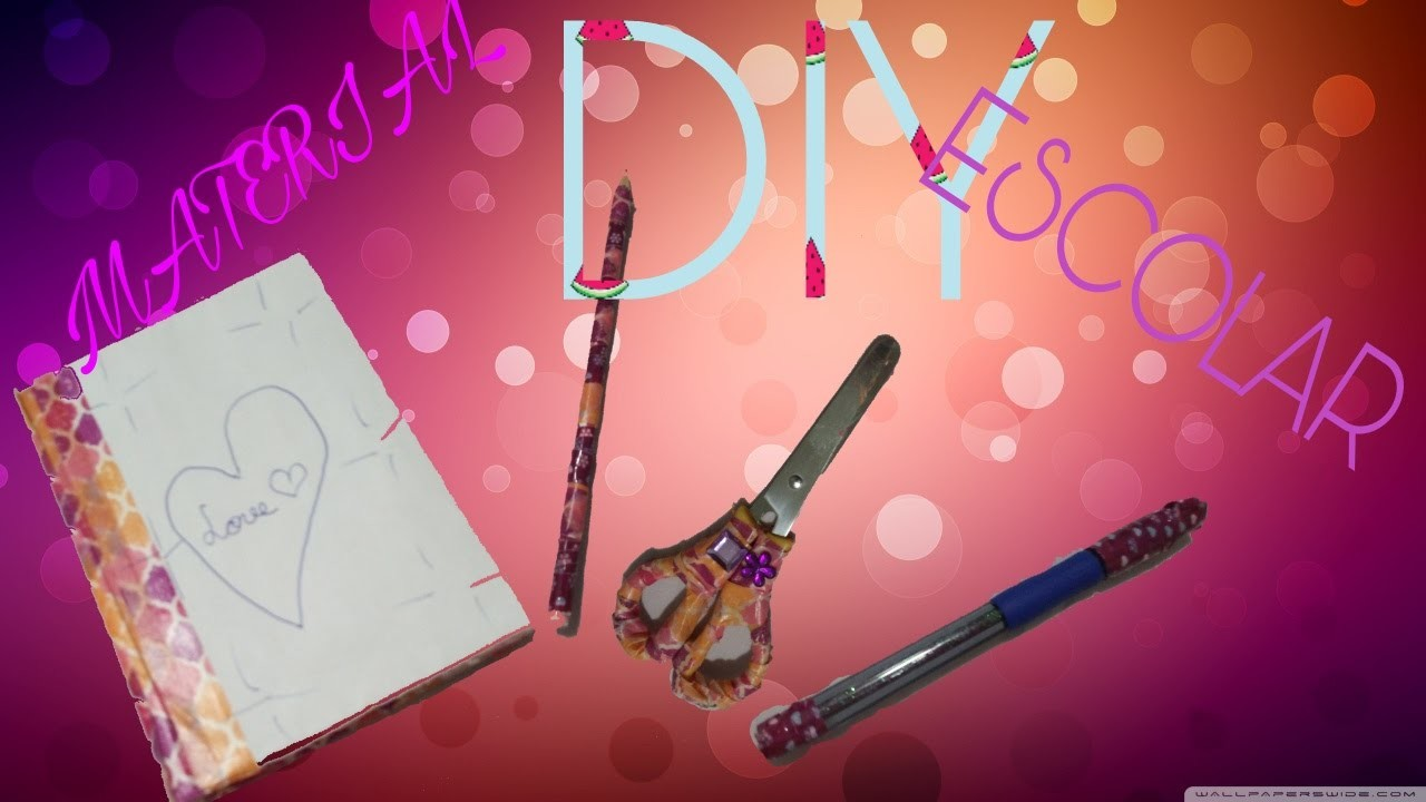 DIY | Material escolar