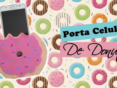 DIY Porta Celular de Donut | Wivye