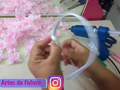 DIY Tiara para Bailarina feita com Régua e Máquina Fit Laser Passo a Passo
