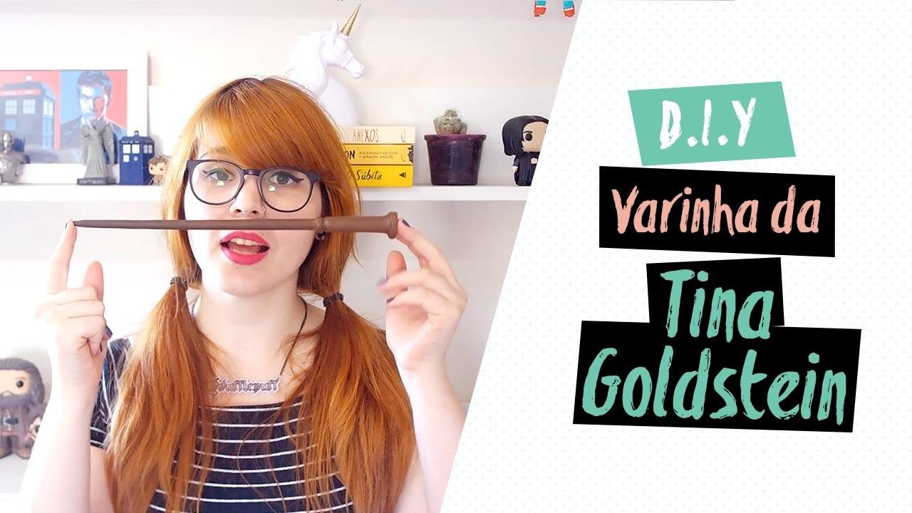 DIY: VARINHA DA TINA | Animais Fantásticos