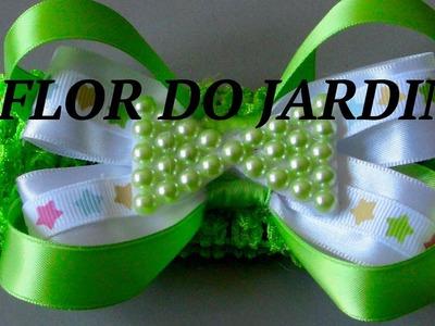 Laço de fita e lacinho de meia perolas- satin ribbon, how to make laces,
