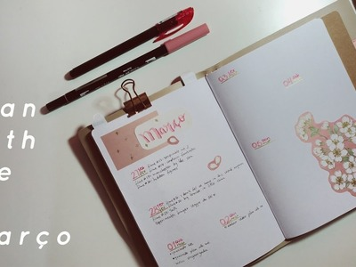 Plan with me | A.CRAFT, DAISO | bullet journal