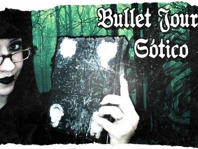 TOUR PELO MEU BULLET JOURNAL.PLANNER Gótico, Darwinista & Nerd